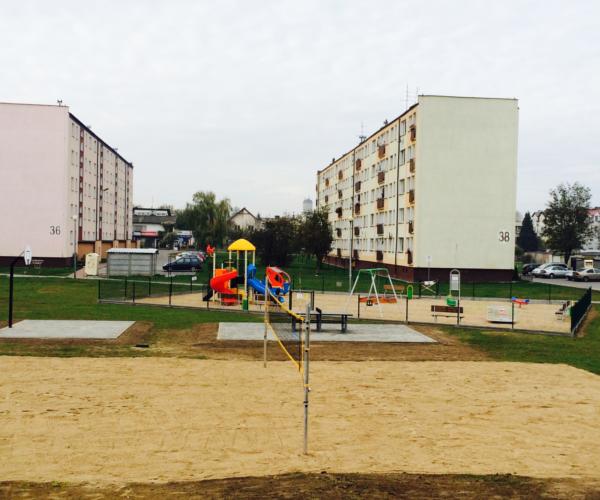 Kowalczyk Budownictwo - Plac Zabaw Krasickiego